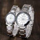 Deffrun Casual Style Full Steel Men Women Quartz Watch Elegant Design Gift Coupon Watch