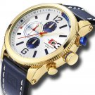 CURREN 8281 Working Little Dials Chronograph Quartz Watch Waterproof Sport Men Watch