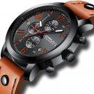 CRRJU 2215 Chronograph Casual Style Men Wrist Watch Luminous Display Quartz Watch
