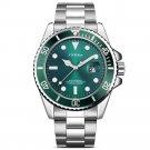 SINOBI 9721 Calendar Business Style Watch Stainless Steel Strap Men Quartz Wristwatch
