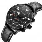 OCHSTIN 6050G Fashion Men Quartz Watch Luxury Leather Strap Sport Watch