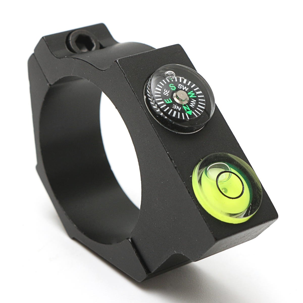 Outdoors Optical Rifle Compass Horizontal Circle Aim Bracket Riflescope Anti-cant, Hunting