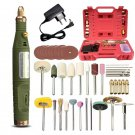 DC 18V Handy Mini Electric Grinder Drill Engraver Rotary Tools Kit Adjustable Speed