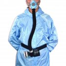 Electric Constant Flow Supplied Air Fed Face Gas Mask Spray Painting Tool Respirator System