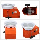 2 in 1 110V 550W 32CM Electric Pottery Wheel Machine For Ceramic Work Clay Art Craft