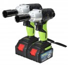 8.0Ah 68V Cordless Impact Wrench Power Driver Drill, 1 Charger 2 Batteries