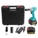 88V 15000mAh Wrench 2 Batteries 1 Charger Brushless Cordless Impact Wrench Tools With Case