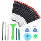 27 in 1 Cell Phone Repair Opening Tools Kit Set Pry Screwdriver For Samsung Apple Mobile Phone