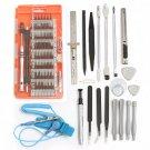 80 In 1 Screwdriver Repair Opening Tools Kit Pry for Pad Mobile Phone 3 Colors