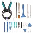 20 in 1 Screen Opening Repair Plier Pry Disassemble Tools Kits Precision Screwdriver Set Repair Tool