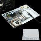 35x25cm Transparent Heat Resistant Silicone Pad Desk Mat Maintenance Platform