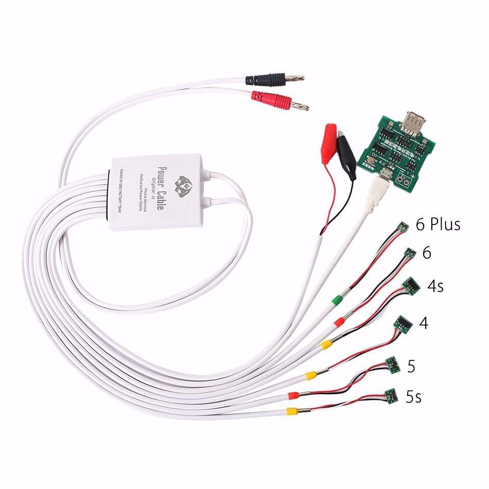 6 in 1 Power Supply Phone Current Test Cable and Battery Activation Board for iPhone