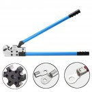 08 80 mm² Terminal Cable Lug Y.O Plug Crimper Crimping Plier AWG 8-3/0