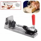 Hole Driller Puncher Inclined Hole Positioning Clamp Tools Kit for Carpenters