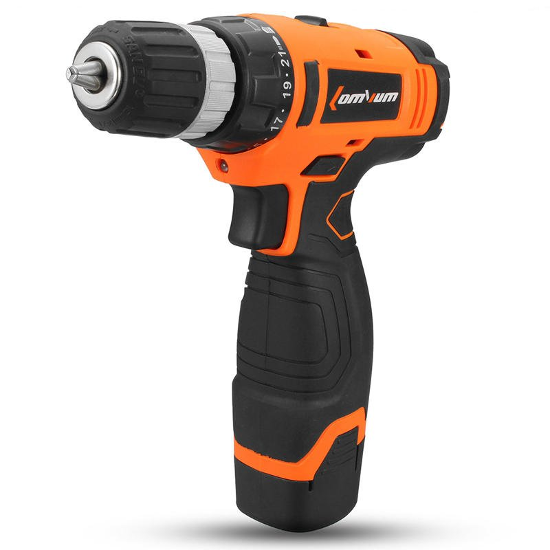 16V Electric Drill Driver Cordeless Power Drills Hand Drill Two Speed With Bits Set