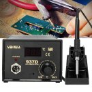937D 220V Electric Soldering Iron Frequency Change Desolder Welding Station Digital Display ESD