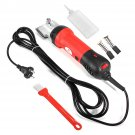 350W Equine Animals Shearing Machine Trimmer Shaver Clipper Hair Grooming 4 Plug