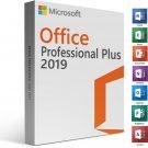 Microsoft Office Pro Plus 2019 Retail online activation-instant download