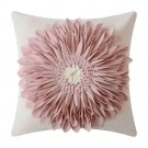 Throw Pillow Case Cover Sunflower Flower Home Decor Rustic Rose Gold 3D New