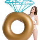 Inflatable Tube Pool Diamond Ring Engagement Wedding Float Raft Kids Adult New