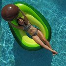Pool Float Lounge Raft Avocado Beach Ball Pit Swim 5.5x3Ft Gift Giant New