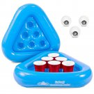 Pool Beer Pong Game Cup Holder Float Water Beach Fun Raft Balls Outdoor New