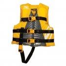 Kids Life Vest Jacket 30 to 50 lbs Blue Gold Girl Boy Water Swim Pool Beach New