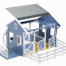 Kids Horse Stable Barn Wash Stall Play Set Breyer Pretend Animal Gift Toy New