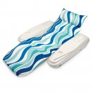 Pool Chaise Lounge Adjustable Relax Chair Raft Float Water Swim Beach Sand New