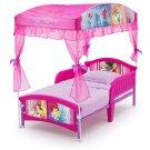 Toddler Bed Canopy Set Princess Girl Pink Kids Room Gift Guardrails New