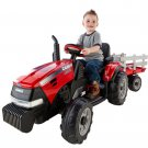 Kids Riding Toy Tractor Trailer Play Set Toddler Farm Boy Girl Outdoor Gift New