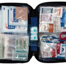 First Aid Kit Aches Injuries 299 Piece Bandages Wipes Blanket Travel Camp New