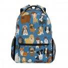 "Dog Backpack Puppy Book Bag Travel Kids School Boy Girl 16"" Animal Gift New"