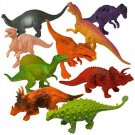Kids Dinosaur Play Set Pack 12 Large Animal Toy Boy Gift Party Favor New