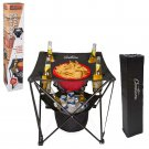 Folding Table Insulated Cooler Food Basket Outdoor Camp Hiking Fishing BBQ New