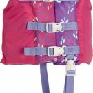 Kids Nylon Life Vest Jacket Swim Pool Water Beach 30 to 50 lbs Girl Pink Purple