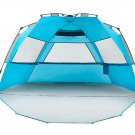 Beach Tent Shelter Outdoor Camp XL Outdoor Water Repellent 3 4  Person New