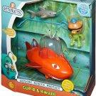 Kids Toy Octonauts Play Set Shark Fish Toddler Boy Girl Gift Pretend New