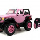 Kids Radio Control Jeep Car Vehicle RC Toy Pink Girl Gift 1:16 Scale Sticker New