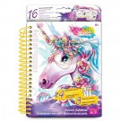 Unicorn Coloring Book Kids Girl Gift Fun Activity Art Craft Draw Paint New