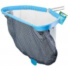 "Swim Pool Leaf Leaves Skimmer Rake Net Bag Heavy Duty Clean Removal 18"" New"