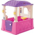 Kids Play House Little Tikes Pink Purple Toddler Toy Indoor Outdoor Gift New