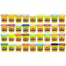 Kids Play Doh Modeling Set Pack 36 Assorted Colors Non Toxic 3 Oz Cans Gift New