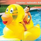 Ride On Duck Toy Giant Inflatable Water Pool Swimming Beach Kids Heavy Duty New
