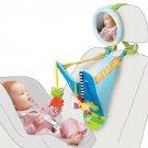 Baby Car Travel Toy Activity Mirror Boy Girl Gift Newborn Toddler Adjustable New