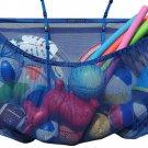 MESH TITAN Hanging Pool Storage Bag, Blue - Adjustable, Versatile