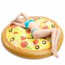 Inflatable Pizza Food Pool Water Beach Toy Float GIANT Kids Adult Party New