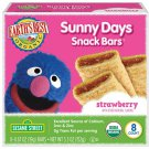 Kids Snack Bars Cereal Crust Earths Best Organic Sunny Day Strawberry Food New