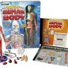 Kids Human Body Squishy Toy Tweezer Book Science Learn Educational Boy Girl New