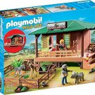 Playmobil Ranger Station Animal Area Play Set Pretend Toy Kids Gift Zoo New